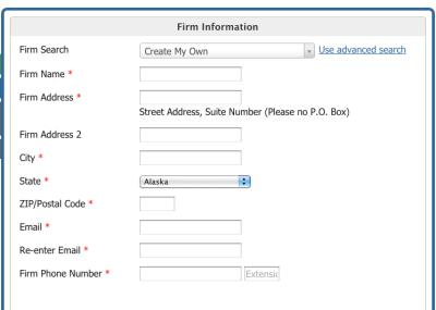 EPA Firm Certification online